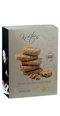 barley KRETEES Wholegrain breadcrackers with barley GREAT TASTE 1 STAR