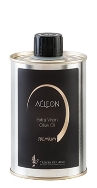 premium evoo 250ml AÉLEON PREMIUM GREEK EVOO 250ml TIN CAN