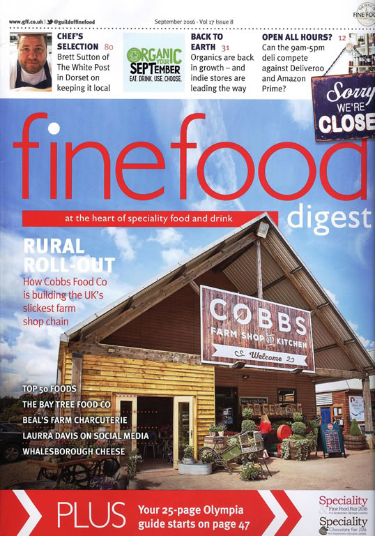 FINE FOOD DIGEST Sept 2016 Awards & Media