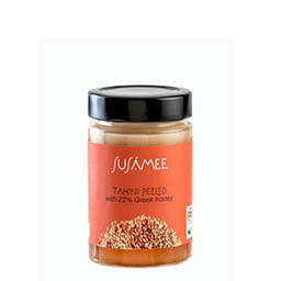 intro tahini peeled with honey 200g Tahini peeled with 22% real Greek honey 200g