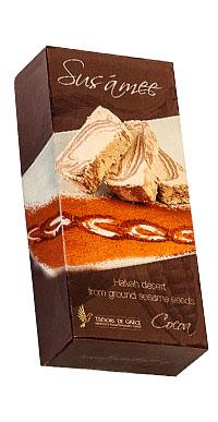halvah cocoa SUSÁMEE HALVAH WITH COCOA