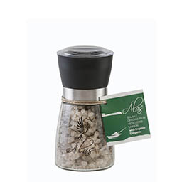 intro 2 alas messolongi with organic oregano Sea salt crystals from Messolongi with organic oregano 160g