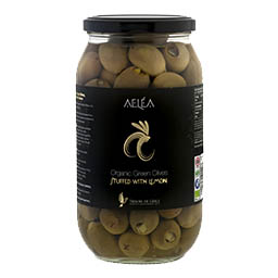 intro organic olives with lemon 600g Products